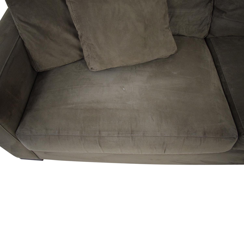 buy Crate & Barrel Axis II Sofa Crate & Barrel Classic Sofas