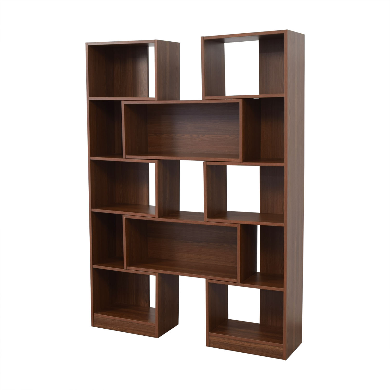 Crate & Barrel Puzzle Bookshelf Crate & Barrel