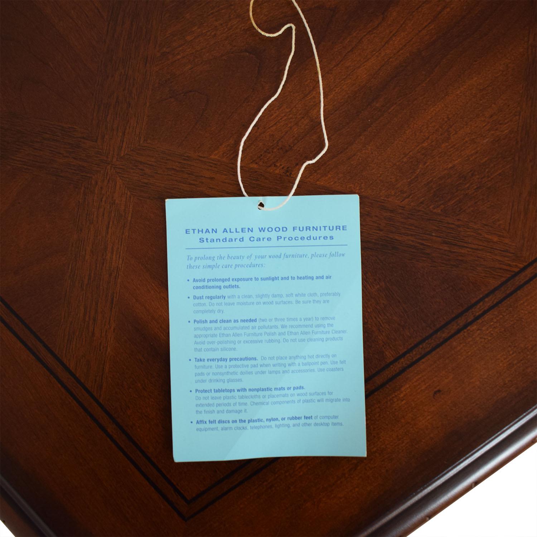 Ethan Allen Ethan Allen Wooden Pedestal Dining Table price