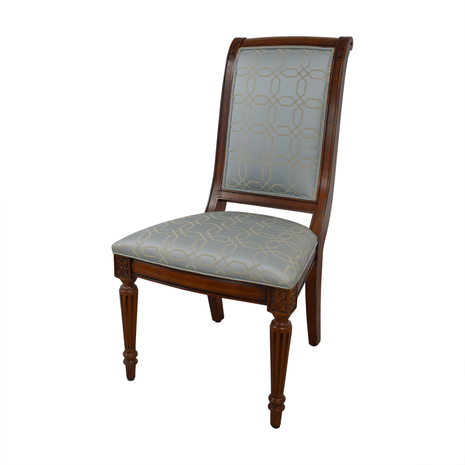Ethan Allen Fabric Dinner Chairs sale