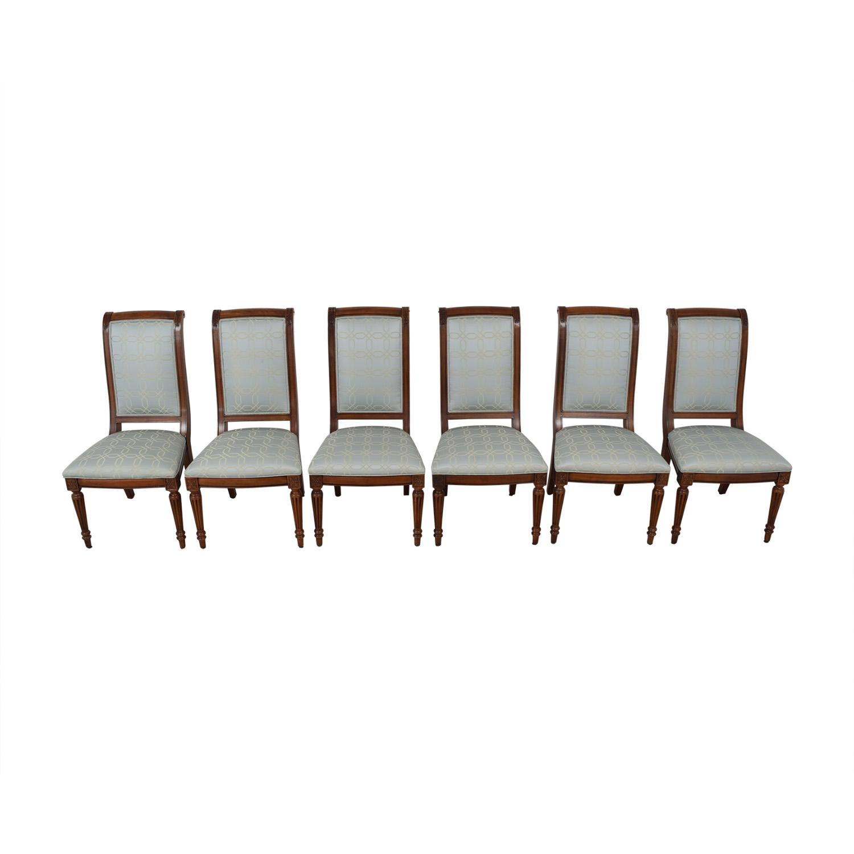 Ethan Allen Ethan Allen Fabric Dinner Chairs discount