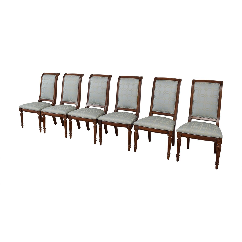 shop Ethan Allen Fabric Dinner Chairs Ethan Allen
