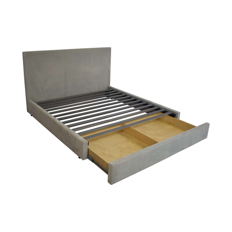 Room & Board Room & Board Wyatt King Bed with Storage Drawer