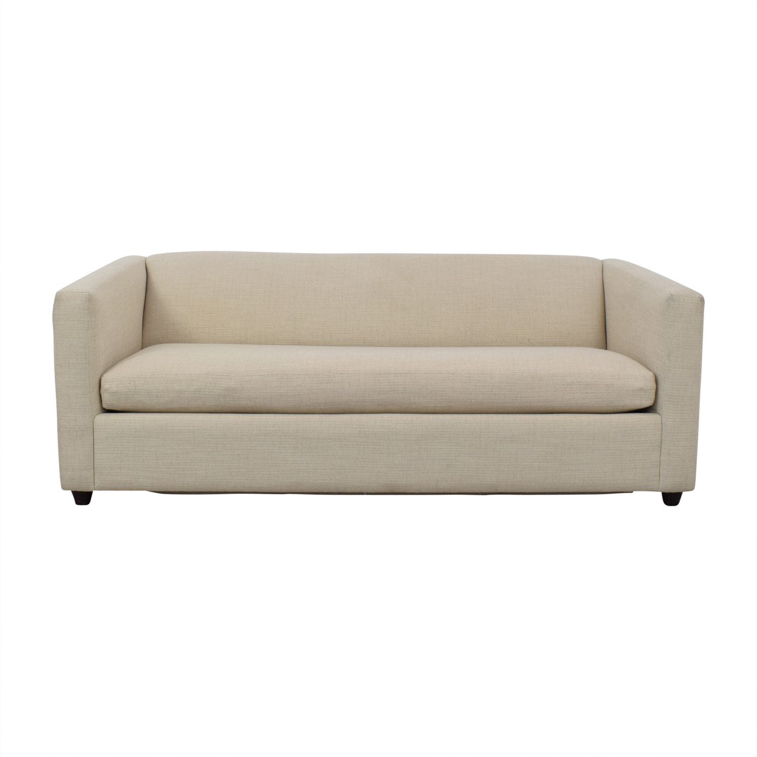buy CB2 CB2 Movie Salt and Pepper Queen Sleeper Sofa online