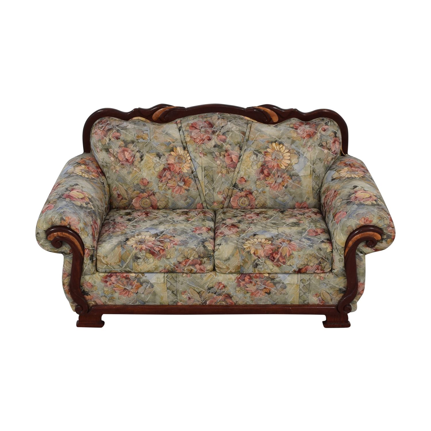 Floral Upholstered Loveseat nyc