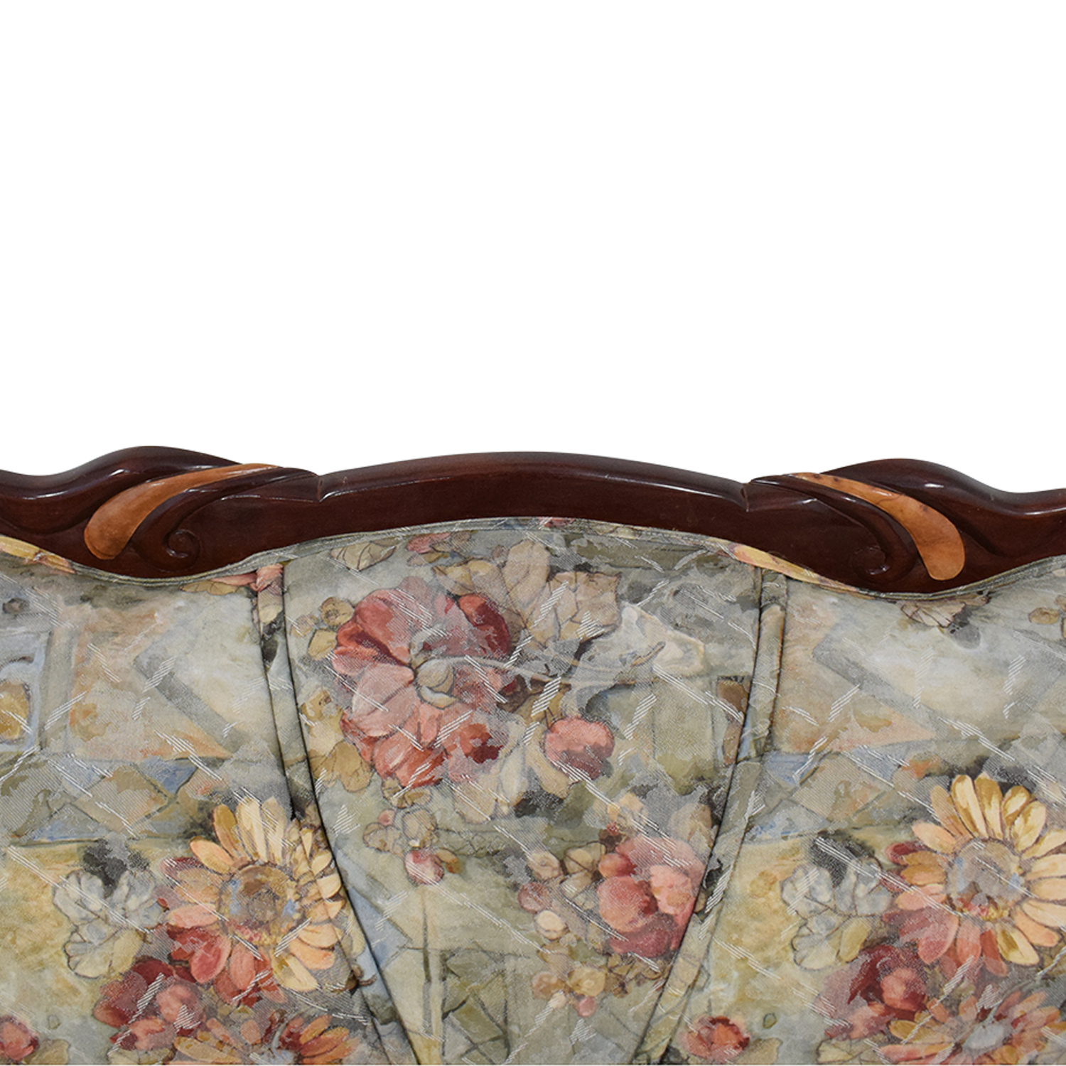 Floral Upholstered Loveseat nj