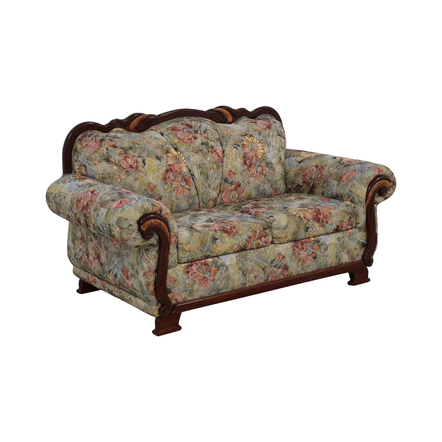 Floral Upholstered Loveseat / Loveseats