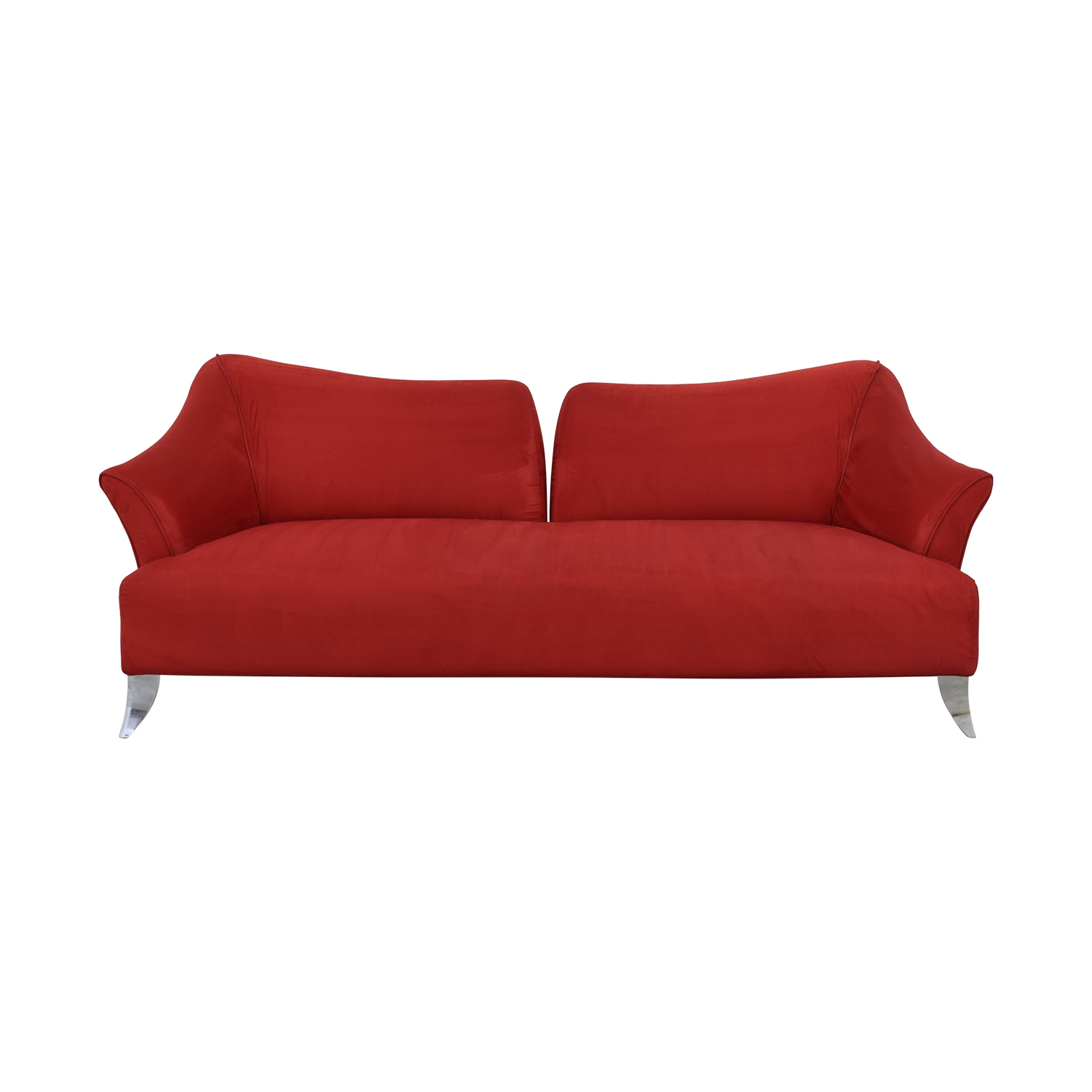 shop Red Split Back Sofa  Sofas