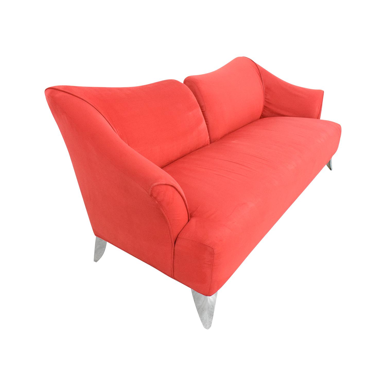 buy Red Split Back Sofa  Sofas
