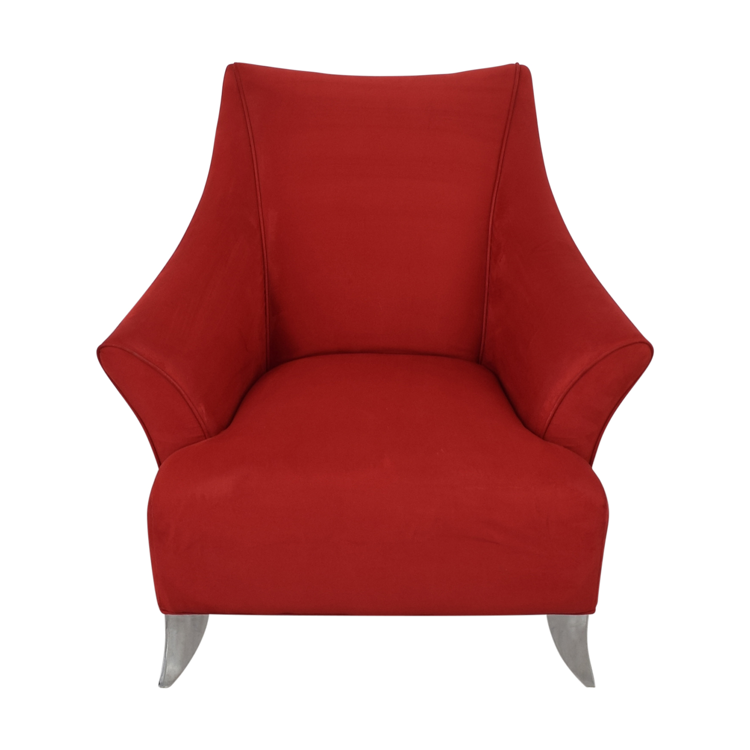 Red Accent Chair sale
