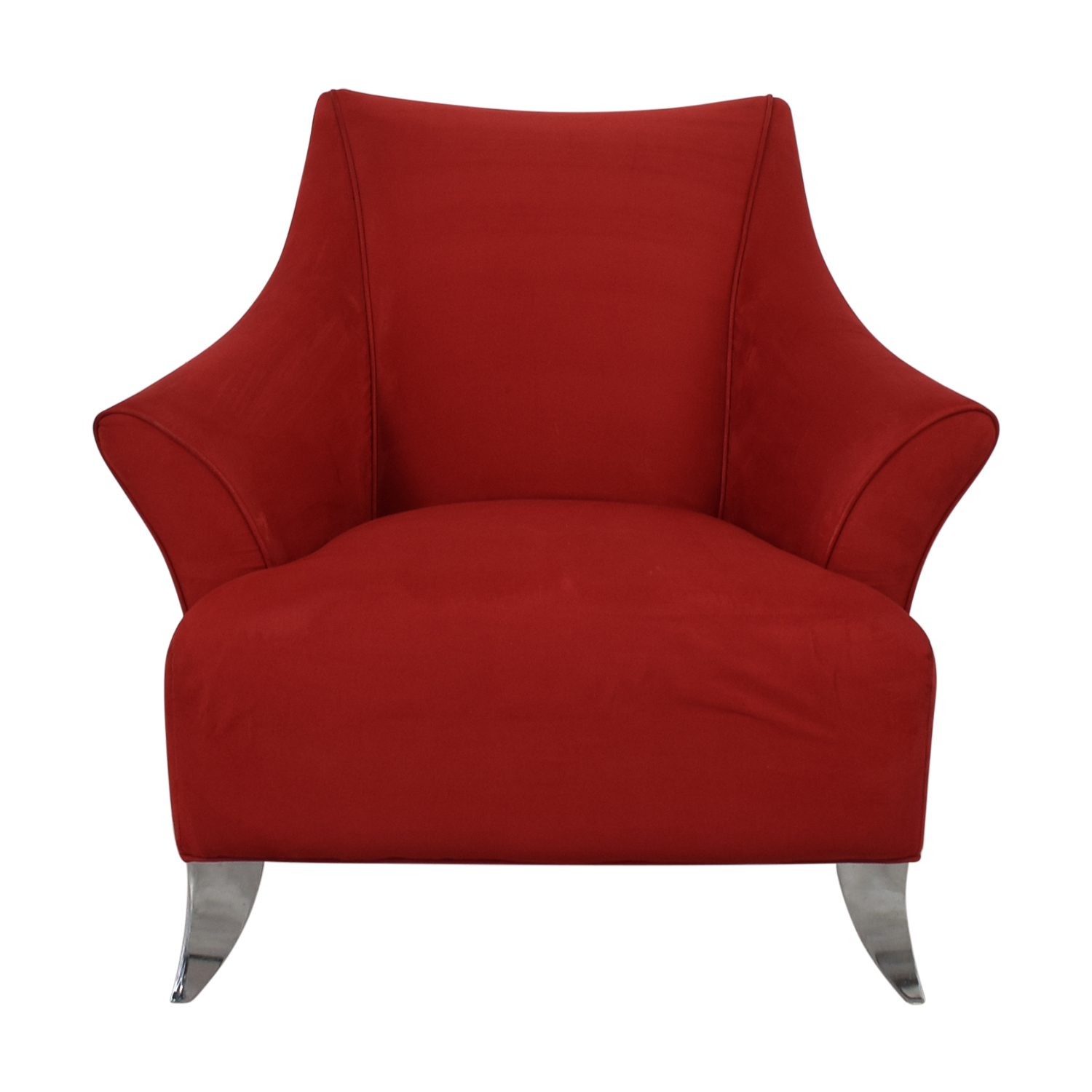Red Accent Chair dimensions