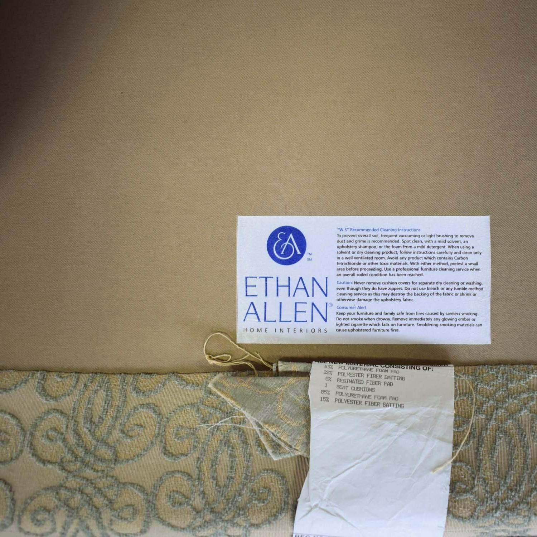 Ethan Allen Ethan Allen Mercer Tufted Accent Chair for sale