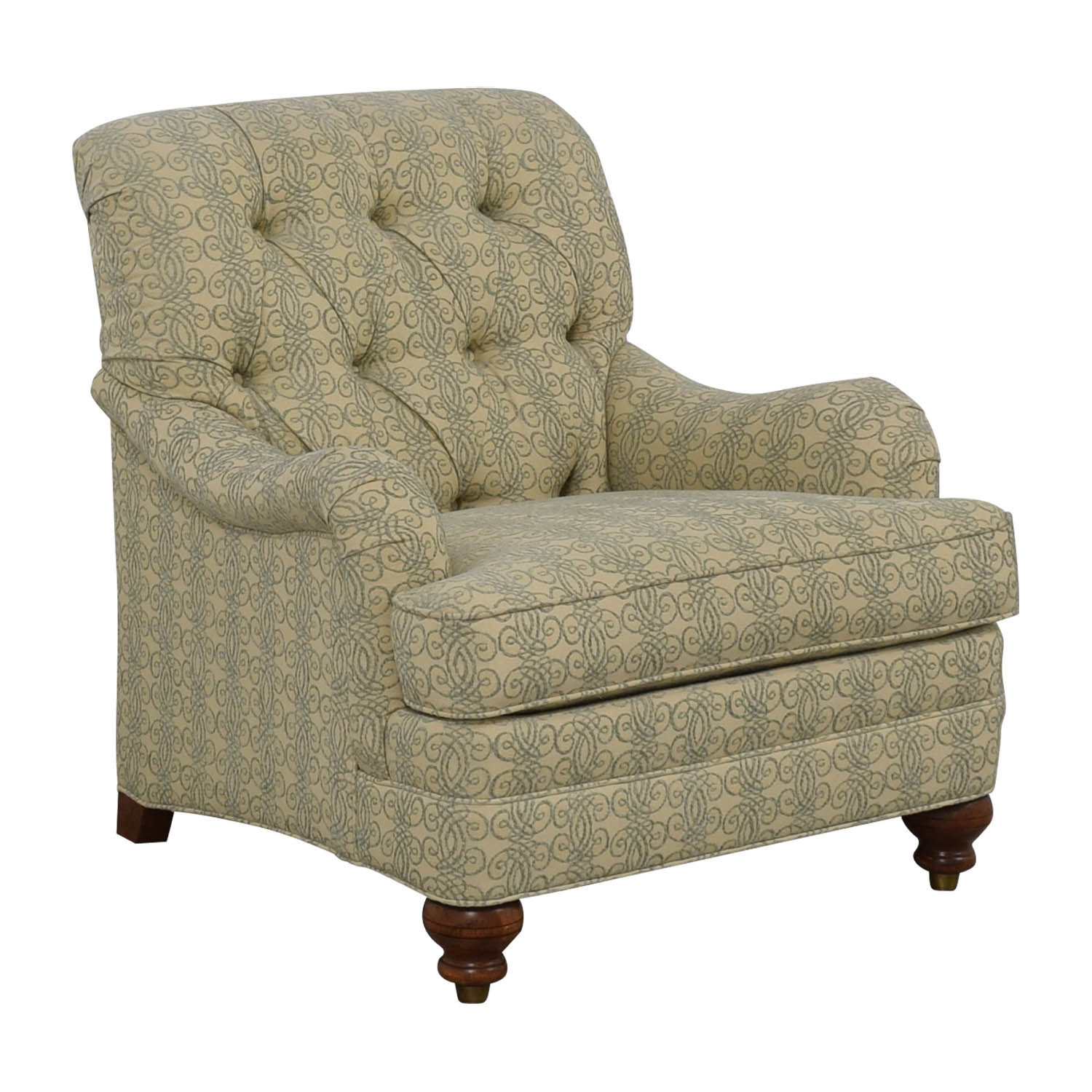 Ethan Allen Mercer Tufted Accent Chair / Chairs