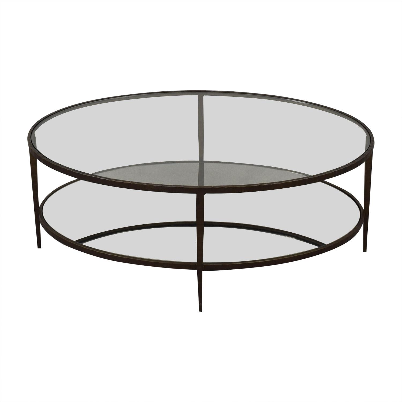 Crate & Barrel Coffee Table Crate & Barrel