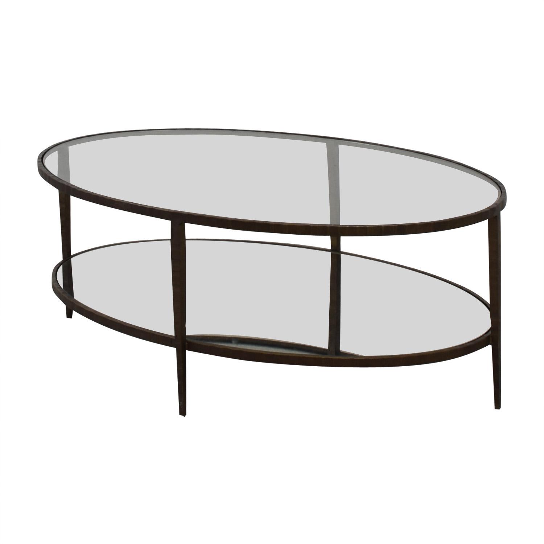 buy Crate & Barrel Coffee Table Crate & Barrel