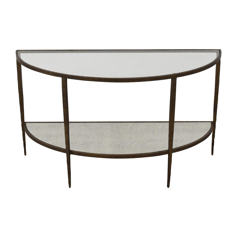 buy Crate & Barrel Console Table Crate & Barrel