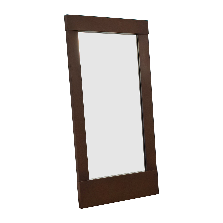 shop Crate & Barrel Crate & Barrel Tall Leaning Floor Mirror online