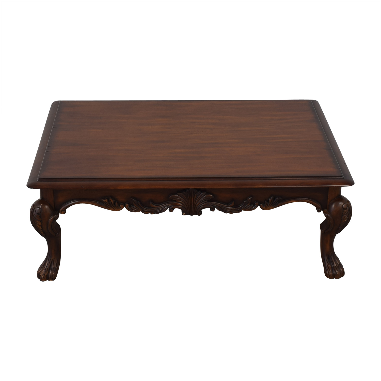 Ethan Allen Wood Coffee Table Ethan Allen