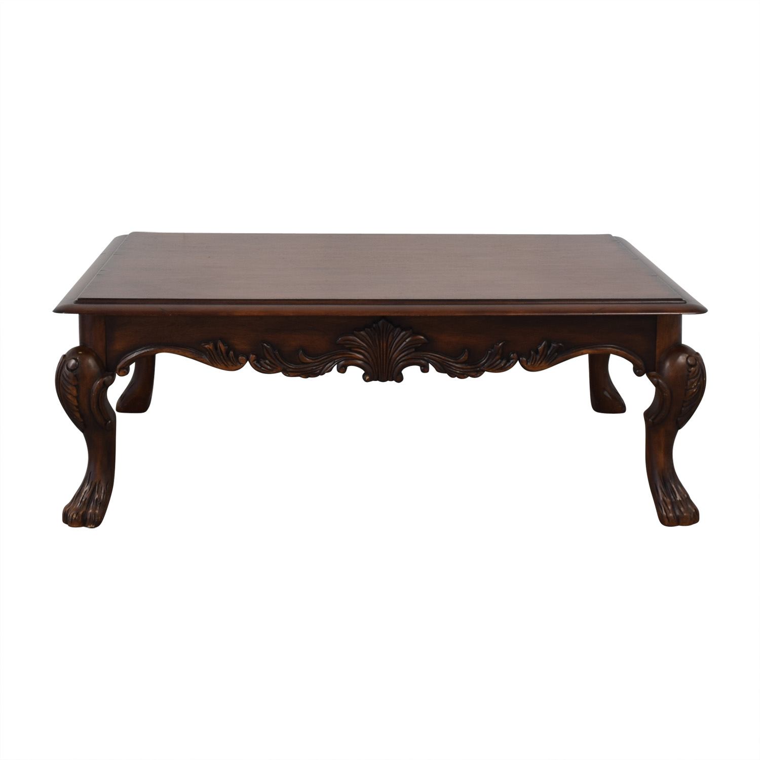 Ethan Allen Ethan Allen Wood Coffee Table nj