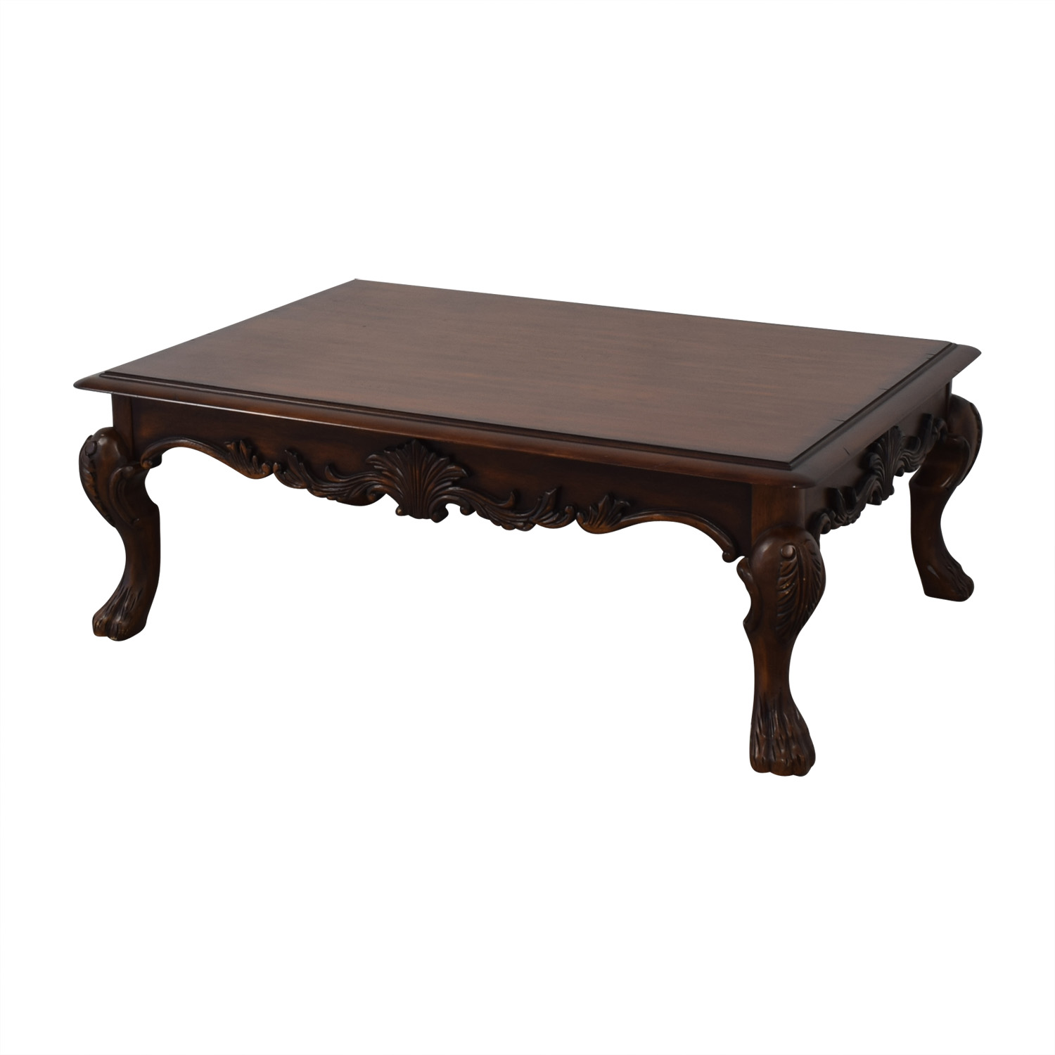 Ethan Allen Wood Coffee Table / Tables