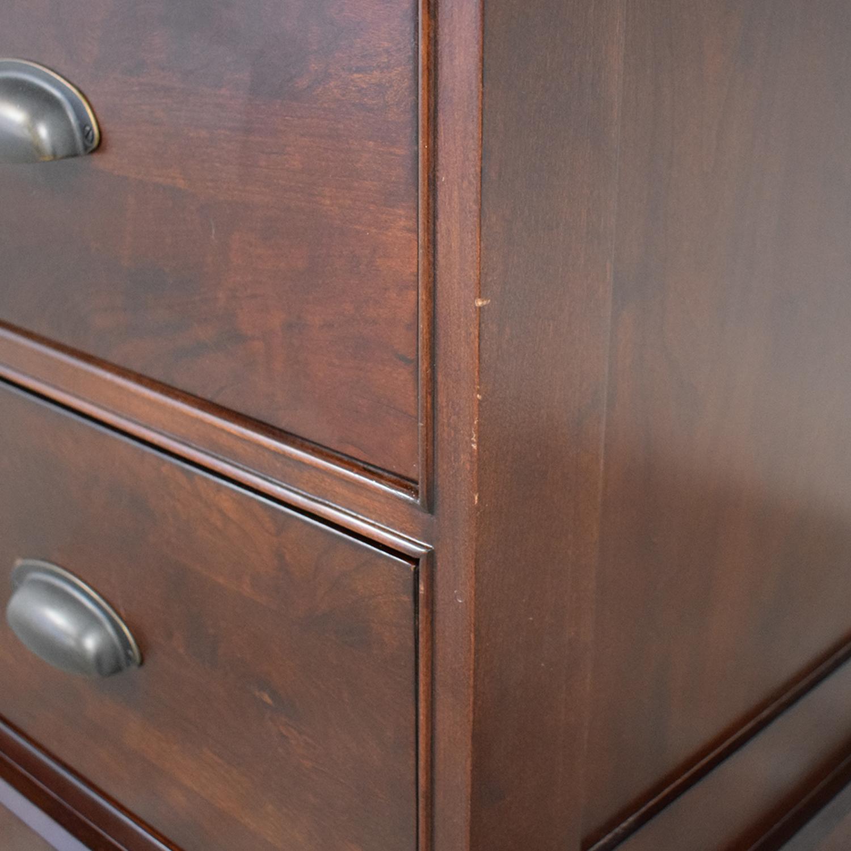 Restoration Hardware Restoration Hardware Marston Cherry Wood Eight-Drawer Dresser nj