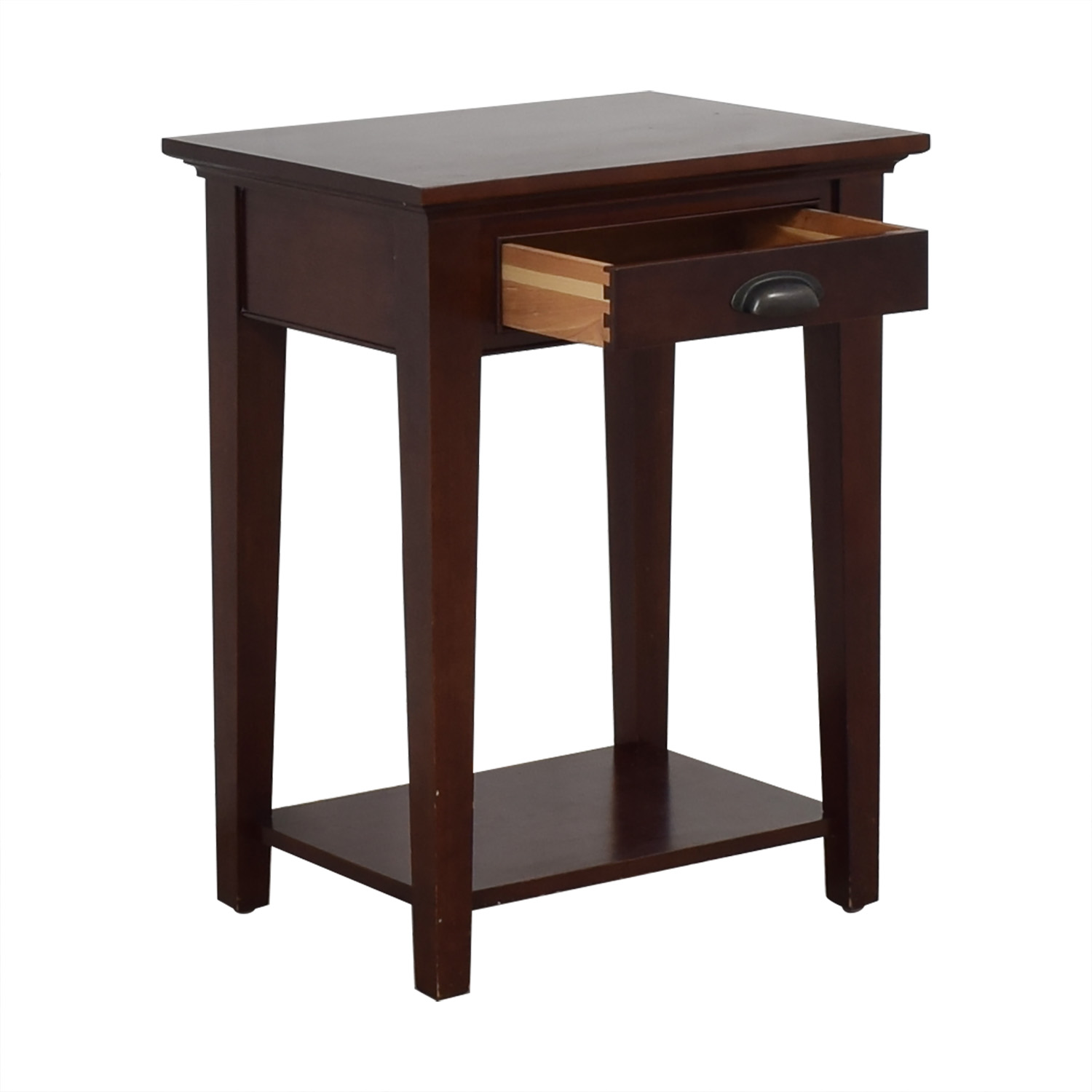 Restoration Hardware Restoration Hardware Marston 1-Drawer Nightstand discount