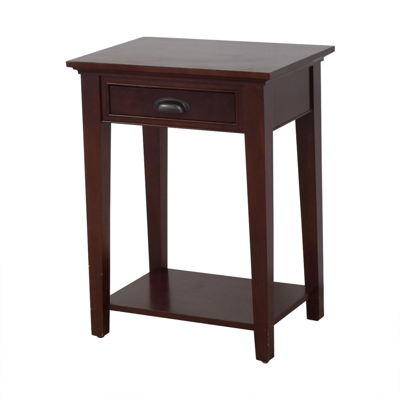 Restoration Hardware Marston 1-Drawer Nightstand / Tables
