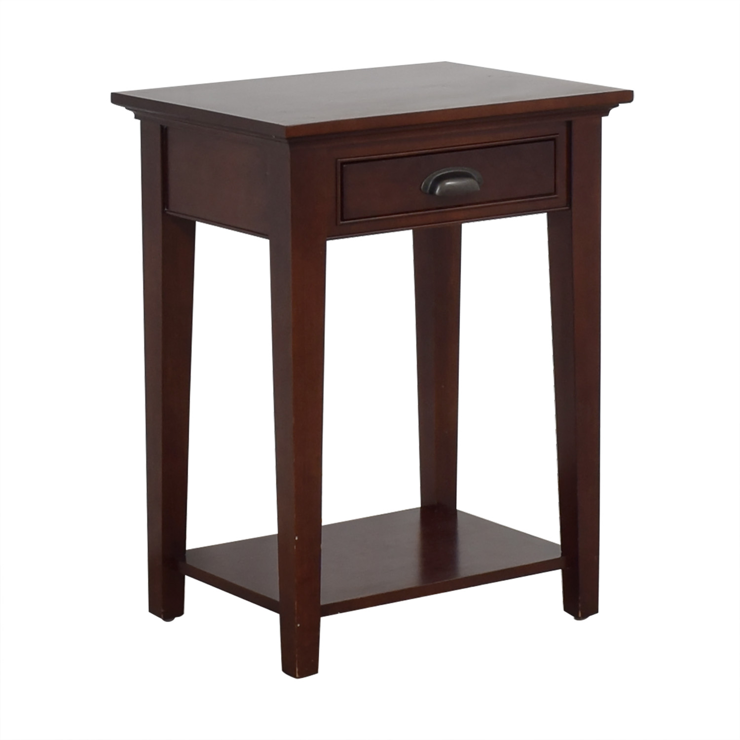 Restoration Hardware Restoration Hardware Marston 1-Drawer Nightstand dimensions
