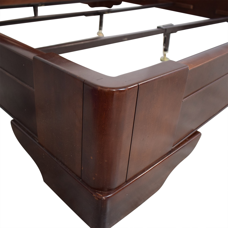 Restoration Hardware Marston King Sleigh Bed / Bed Frames