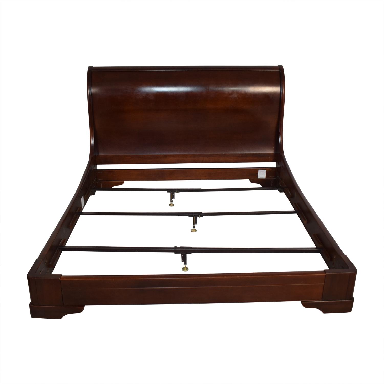 Restoration Hardware Marston King Sleigh Bed Restoration Hardware