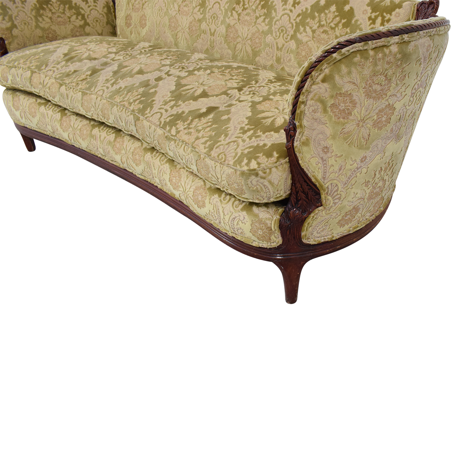 Prime 74 Off Cabriole Sofa Sofas Ncnpc Chair Design For Home Ncnpcorg