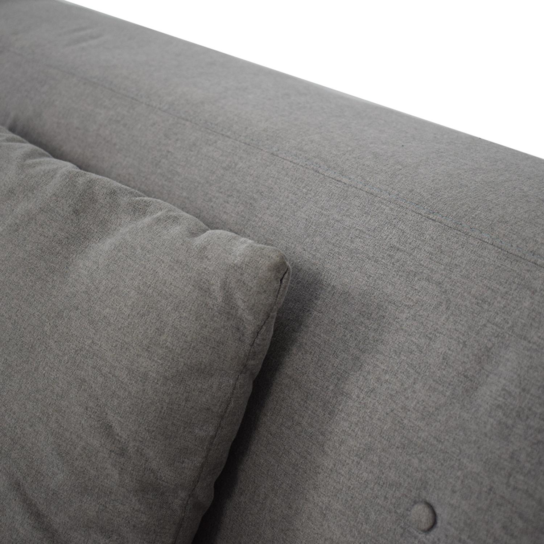 Macy's Braylei Fabric Track Arm Sofa price