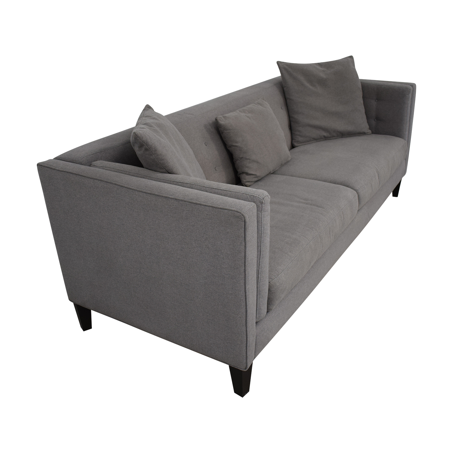 Macy's Braylei Fabric Track Arm Sofa for sale