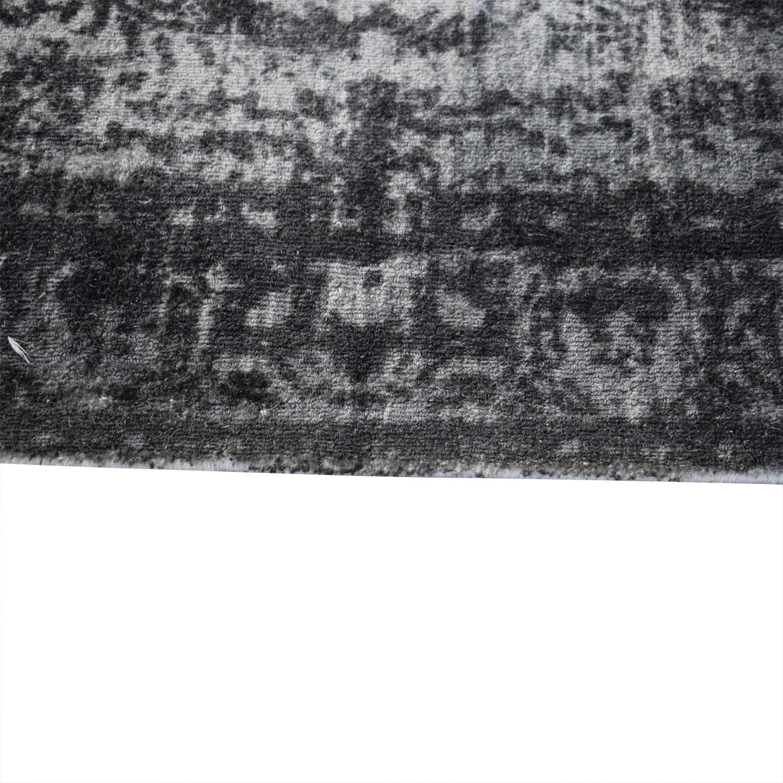 West Elm West Elm 5x8 Distressed Arabesque Wool Rug used