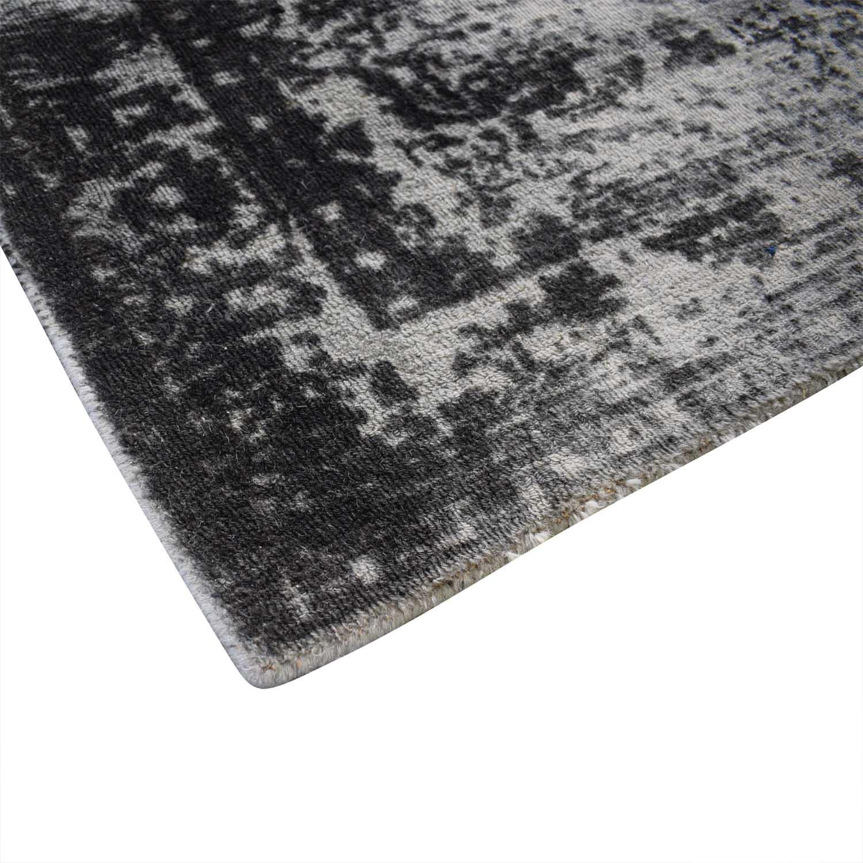 buy West Elm 5x8 Distressed Arabesque Wool Rug West Elm