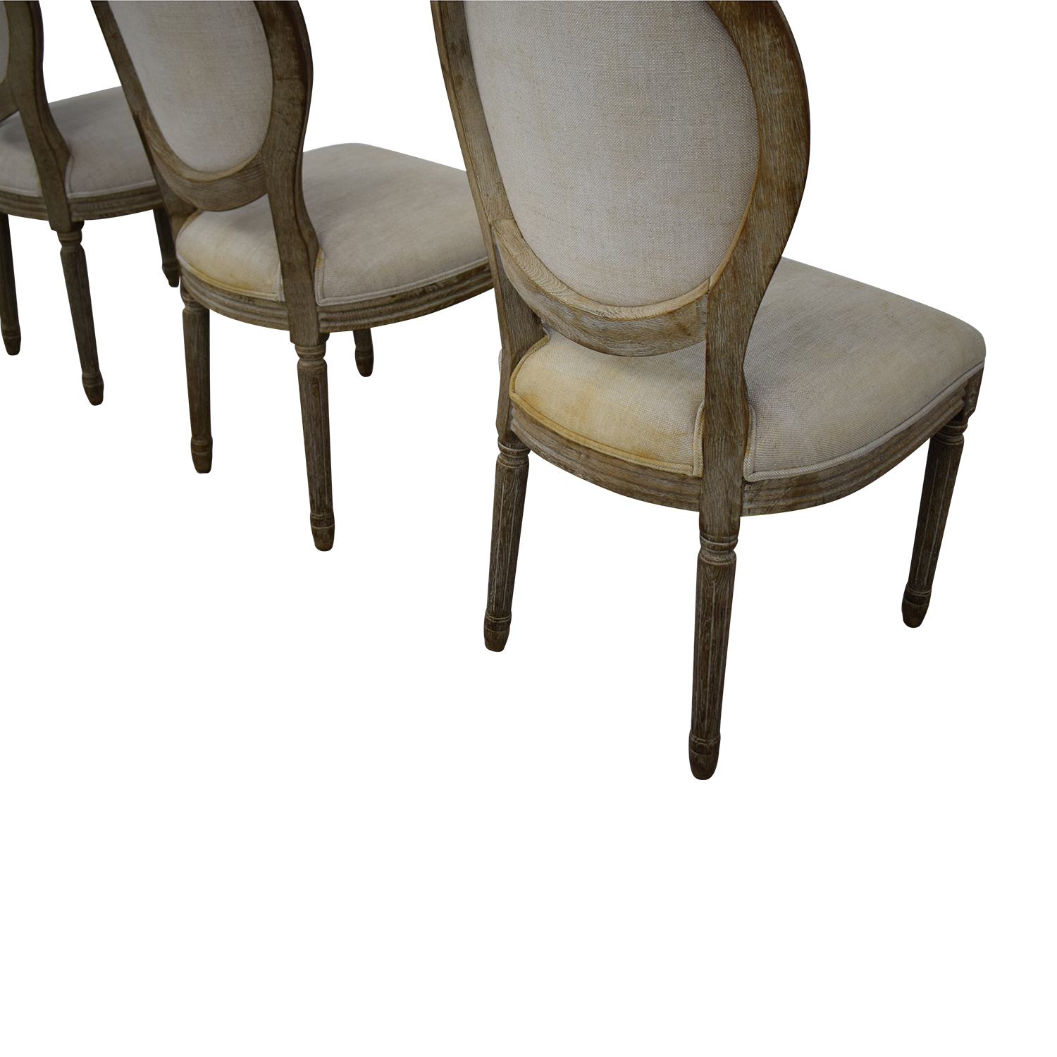 buy Restoration Hardware Vintage French Round Chair Restoration Hardware Dining Chairs