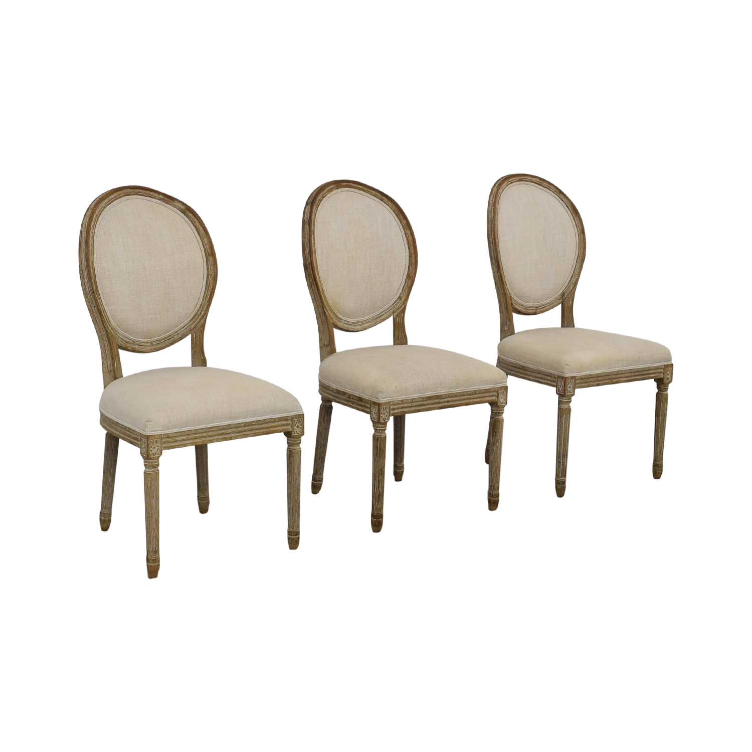 Restoration Hardware Vintage French Round Chair / Dining Chairs