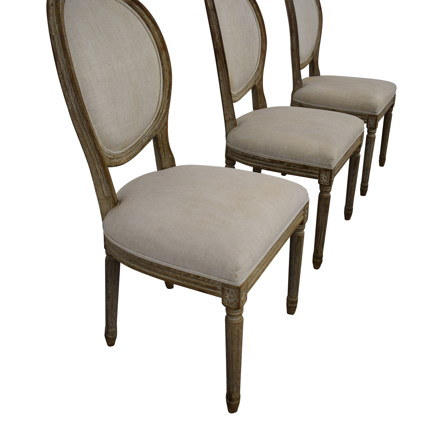 buy Restoration Hardware Vintage French Round Chair Restoration Hardware