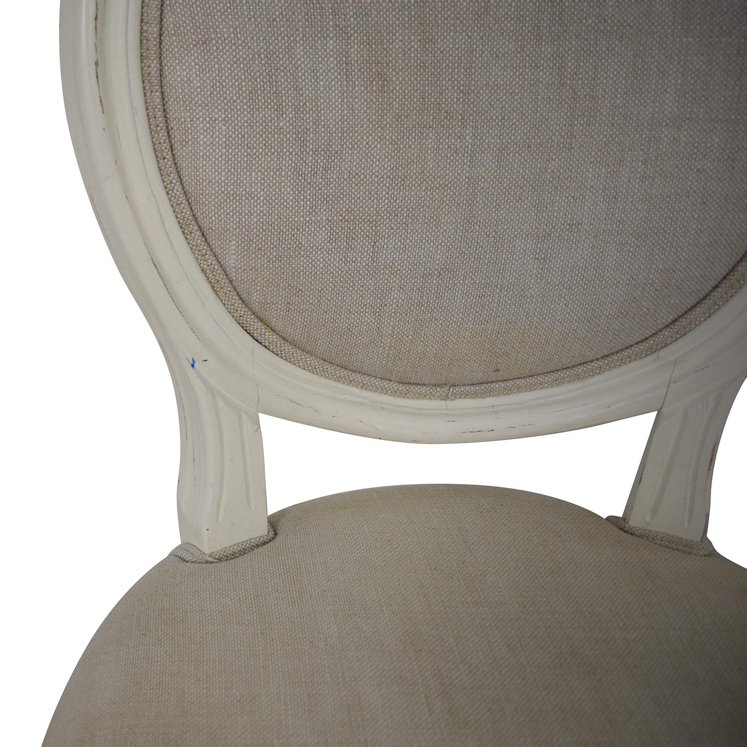 Restoration Hardware Restoration Hardware Vintage French Round Fabric Stools discount