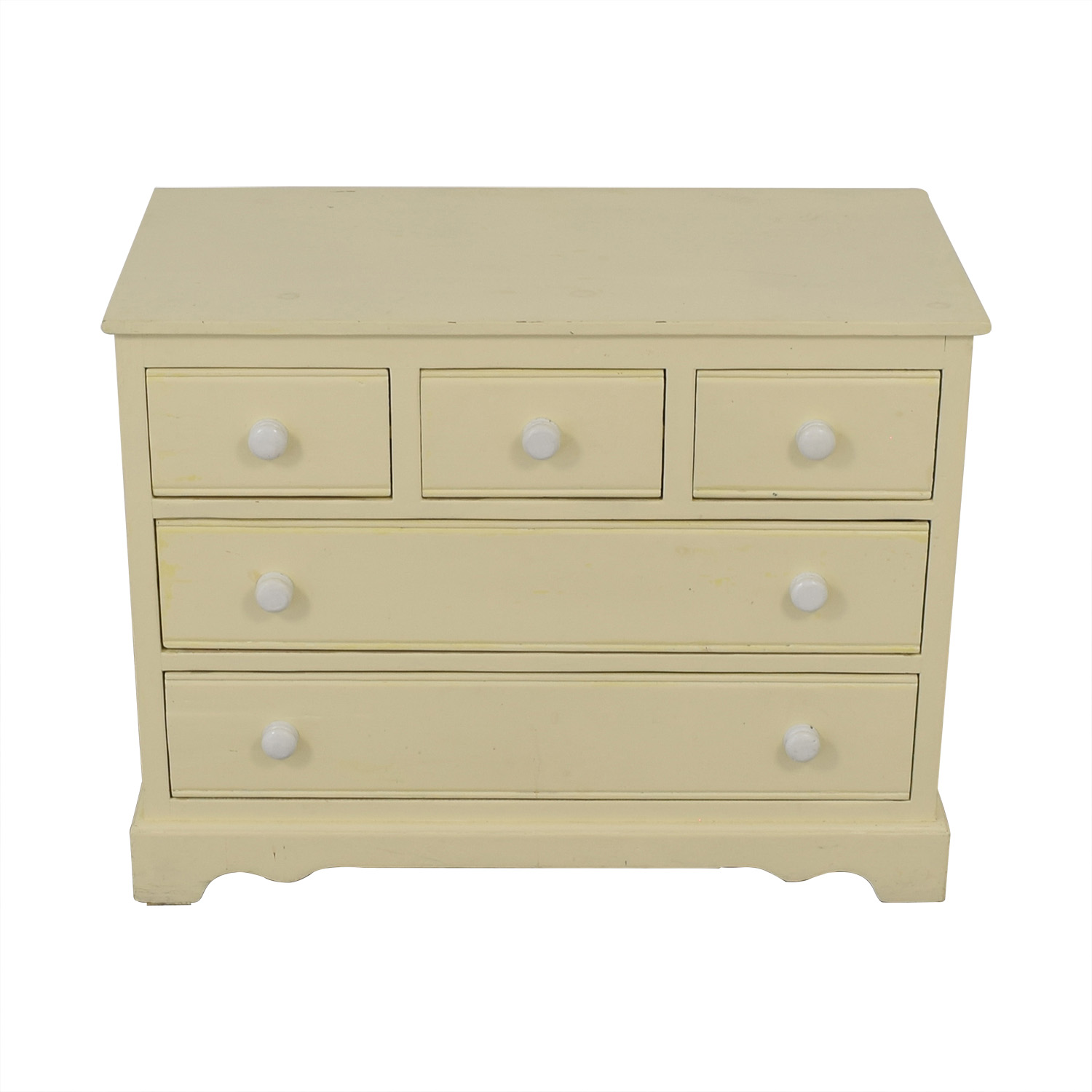 Pottery Barn Pottery Barn Five Drawer Dresser with Extendable Table