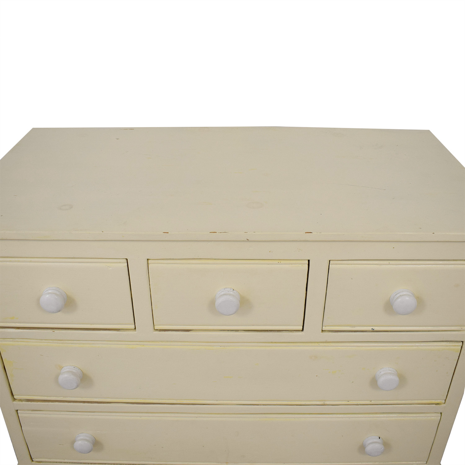 Pottery Barn Pottery Barn Five Drawer Dresser with Extendable Table coupon