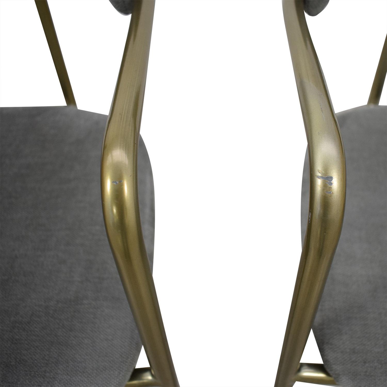 buy West Elm Lenox Velvet Dining Chairs West Elm