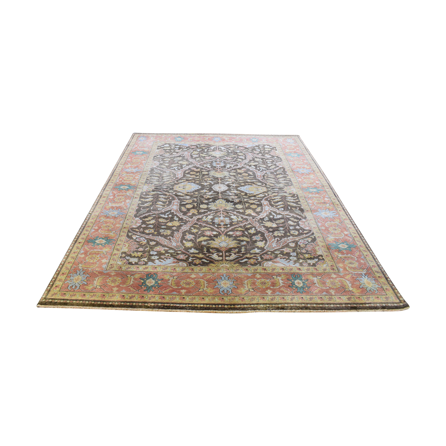 Hand-Knotted Oriental Rug nj