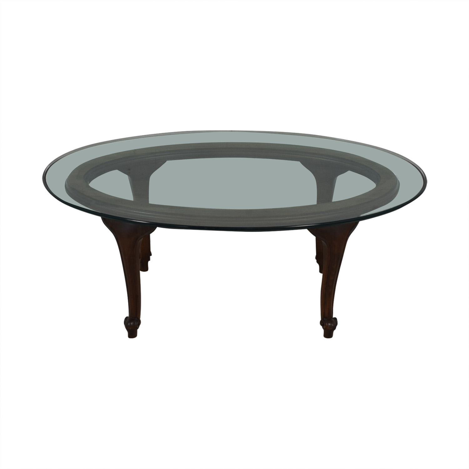 Macy's Macy's Oval Coffee Table for sale