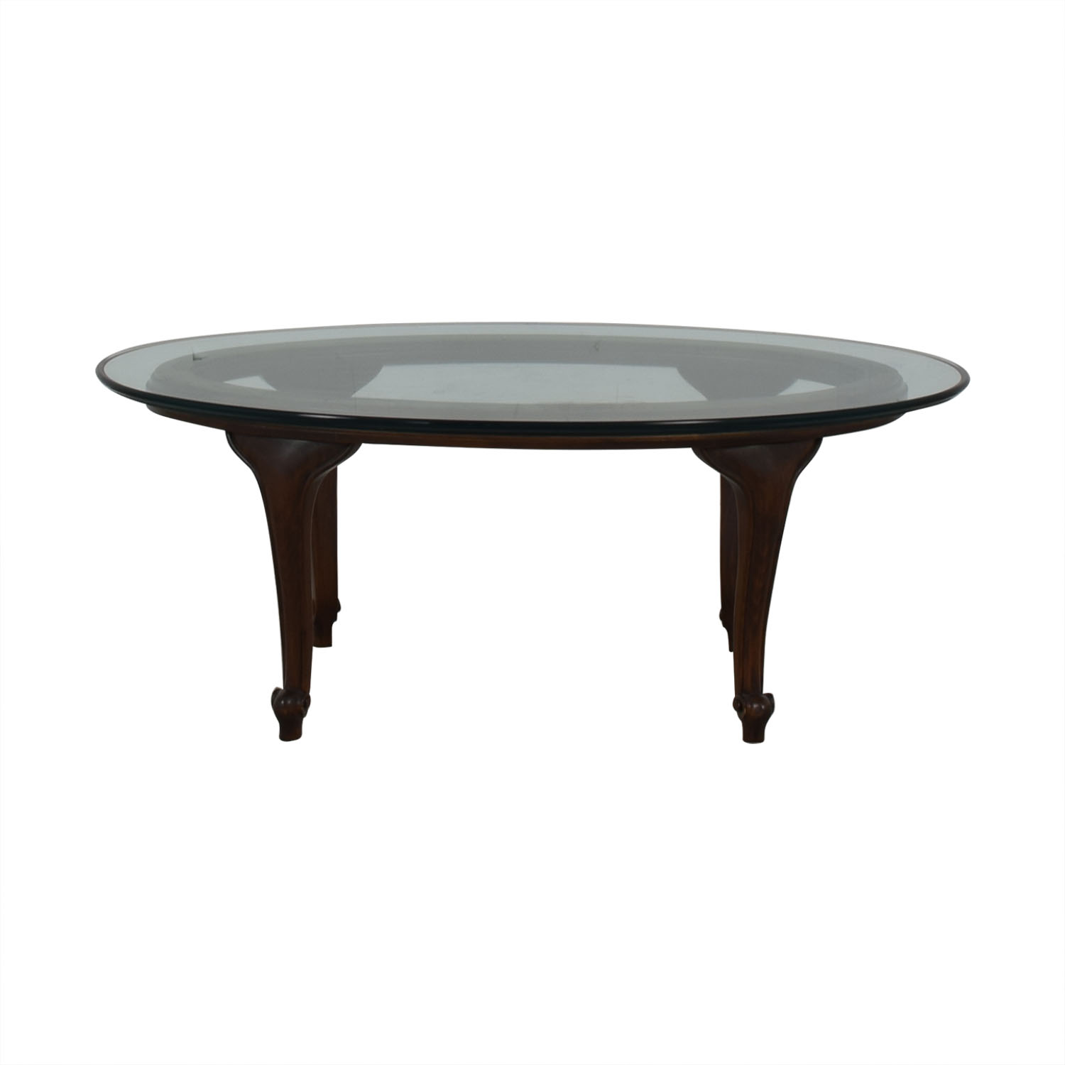 Macy's Macy's Oval Coffee Table on sale