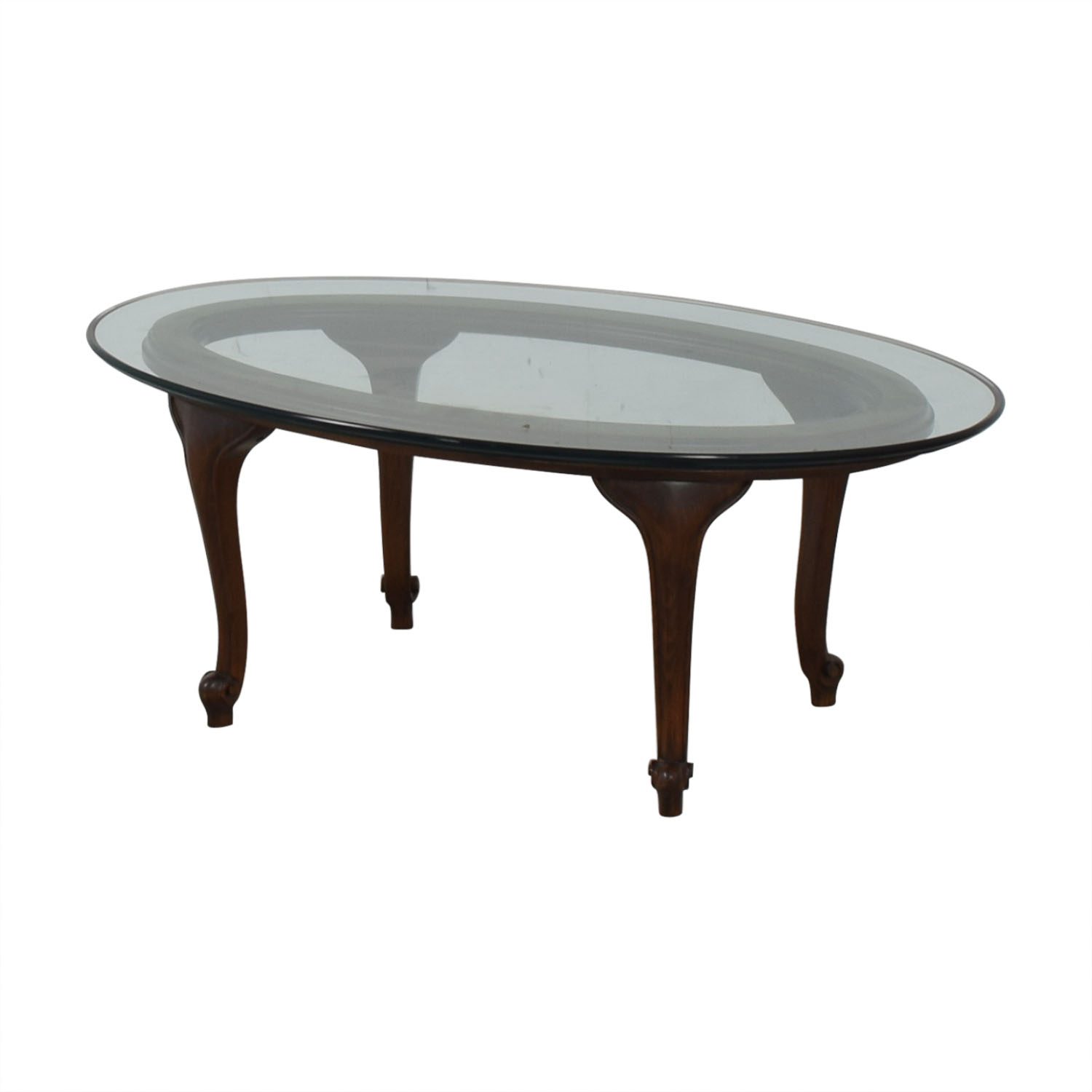 Macy's Macy's Oval Coffee Table discount