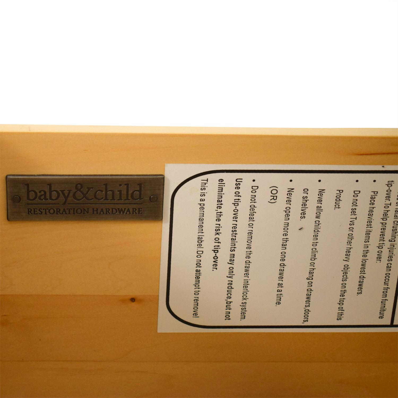 Restoration Hardware RH Baby & Child Marais Wide Dresser / Storage