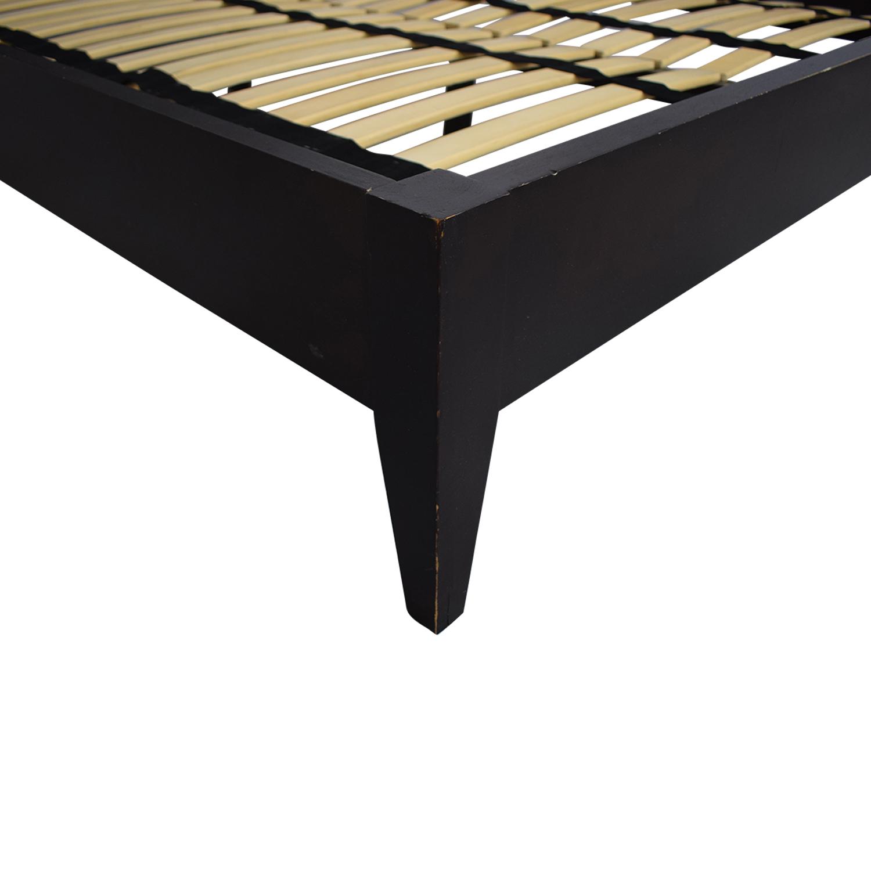 Crate & Barrel Platform Queen Bed price