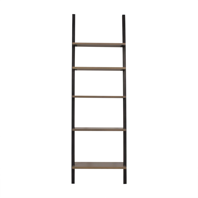 shop Room & Board Gallery Leaning Shelf Room & Board Bookcases & Shelving