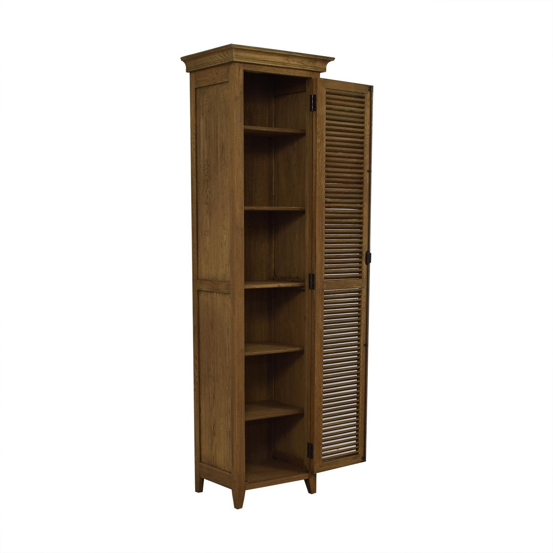 Restoration Hardware Restoration Hardware Tall Shutter Cabinet price